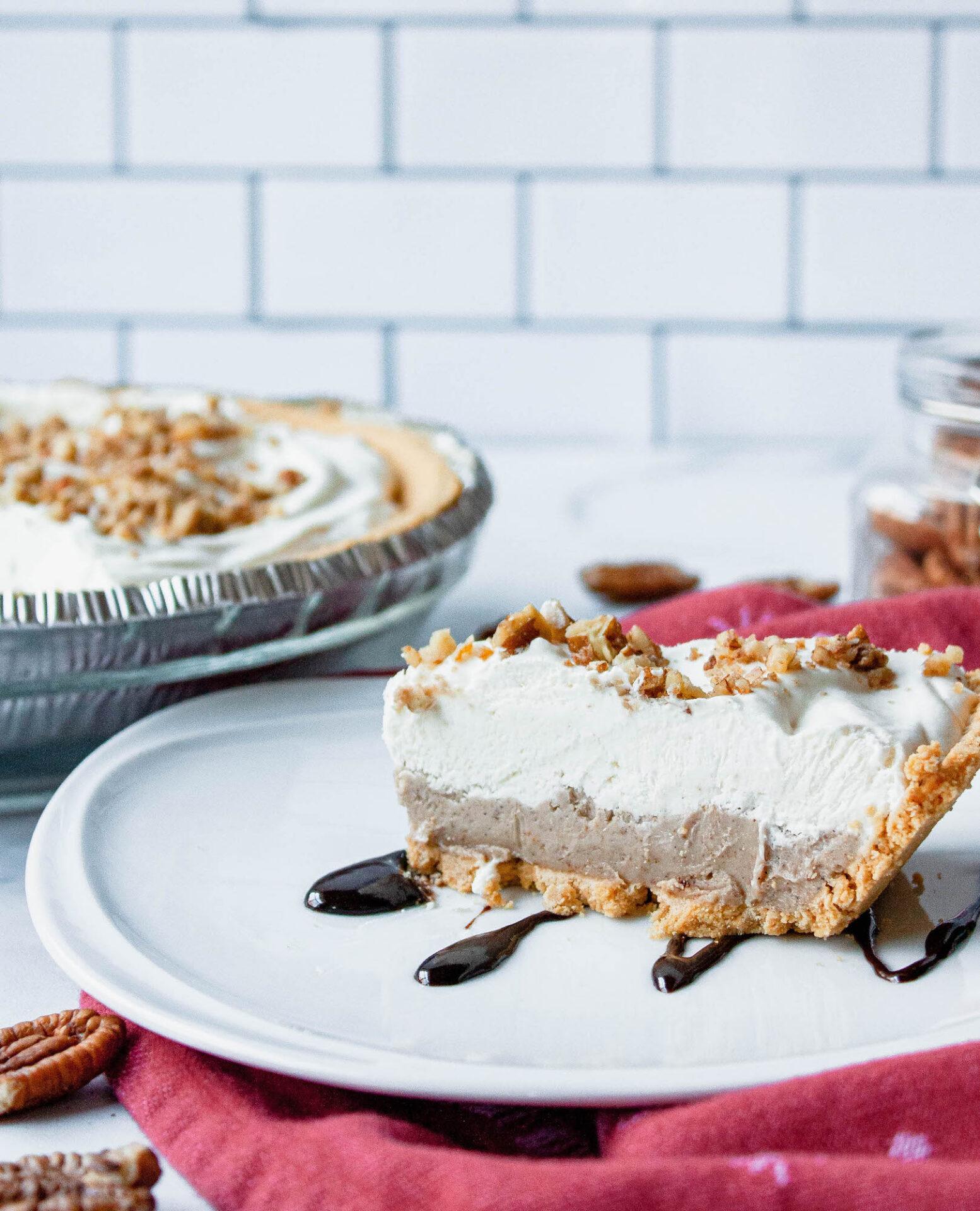 side image pecan butter pie | comfort food | hearth health happiness