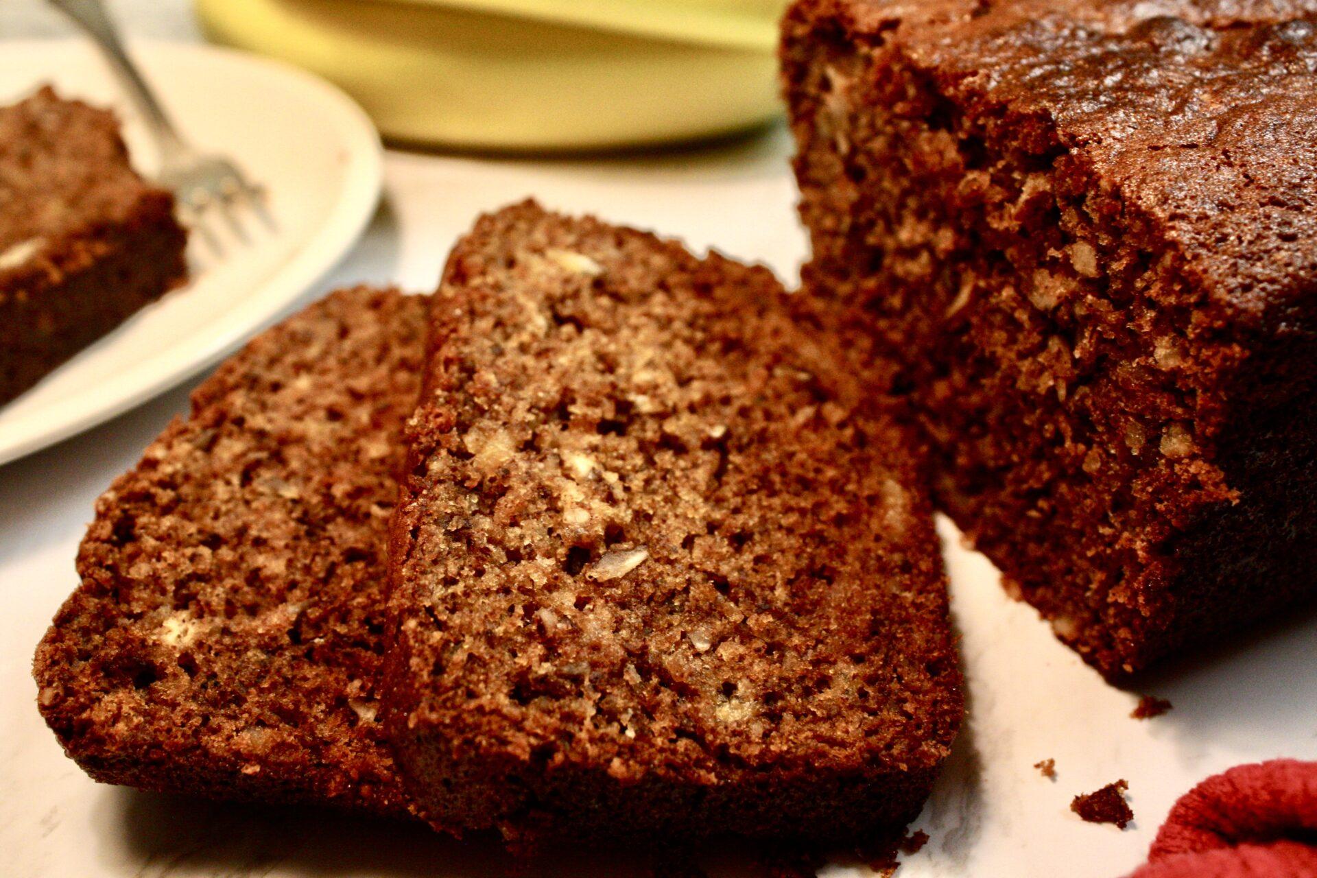 Cinnamon Pecan Banana Bread | hearth health happiness
