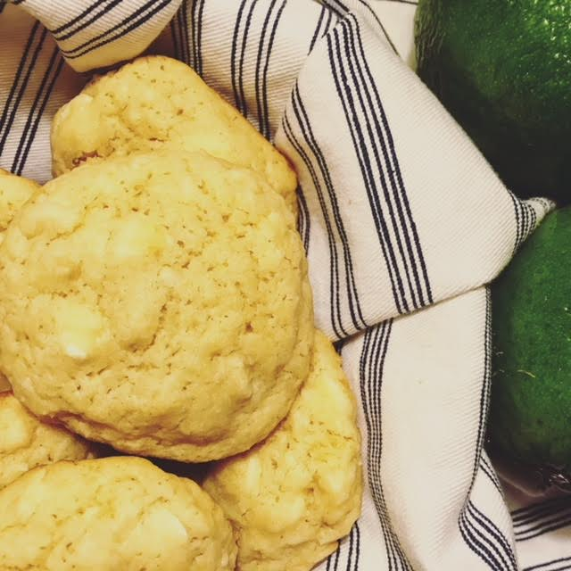 tropical lime cookies | hearth health happiness
