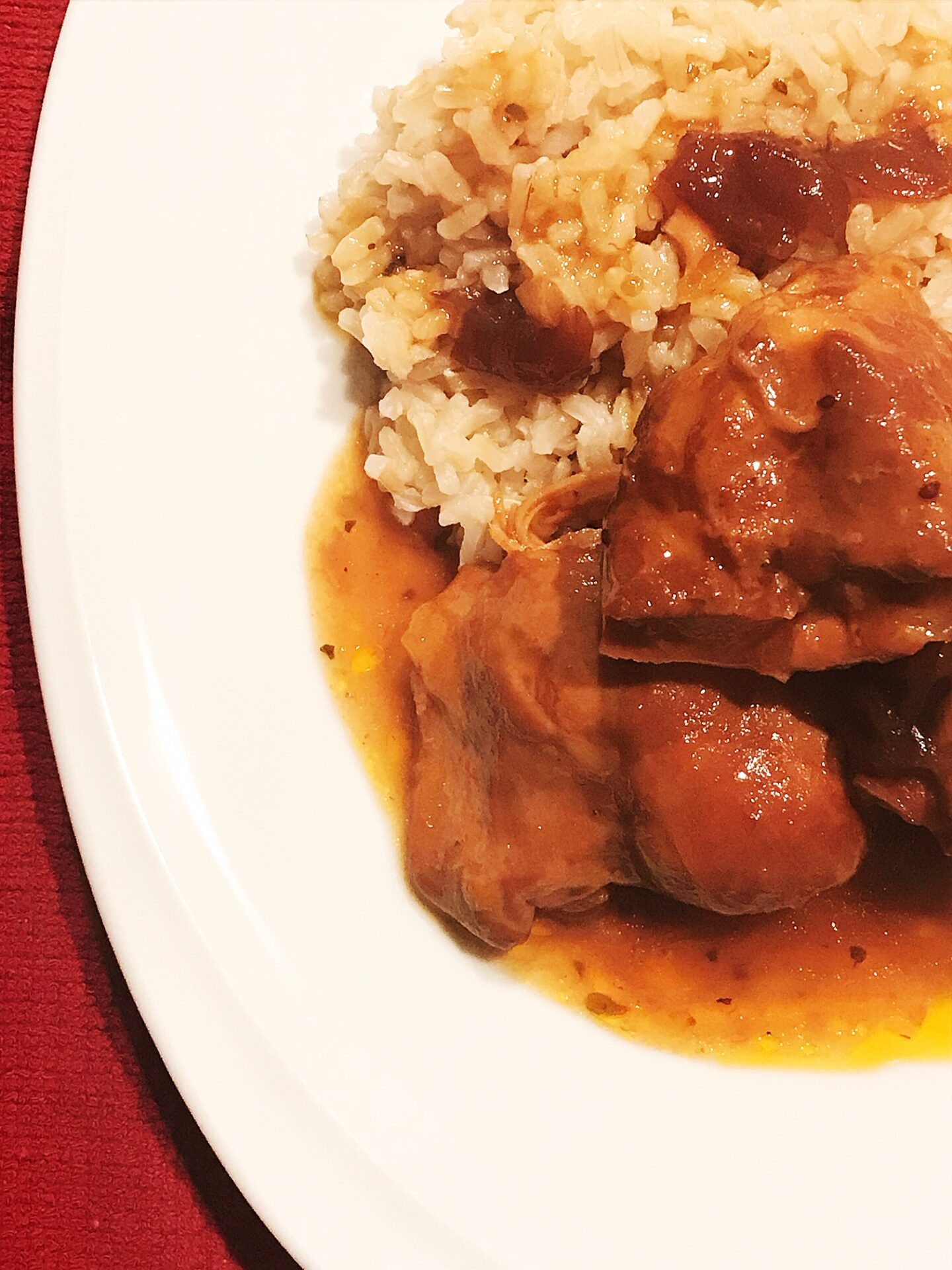 slow cooker cranberry chicken | hearth health happiness