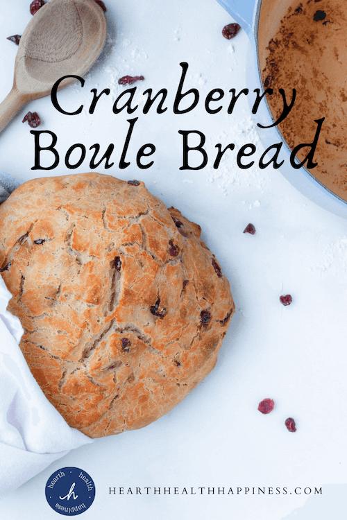 Cranberry Boule Bread Pin
