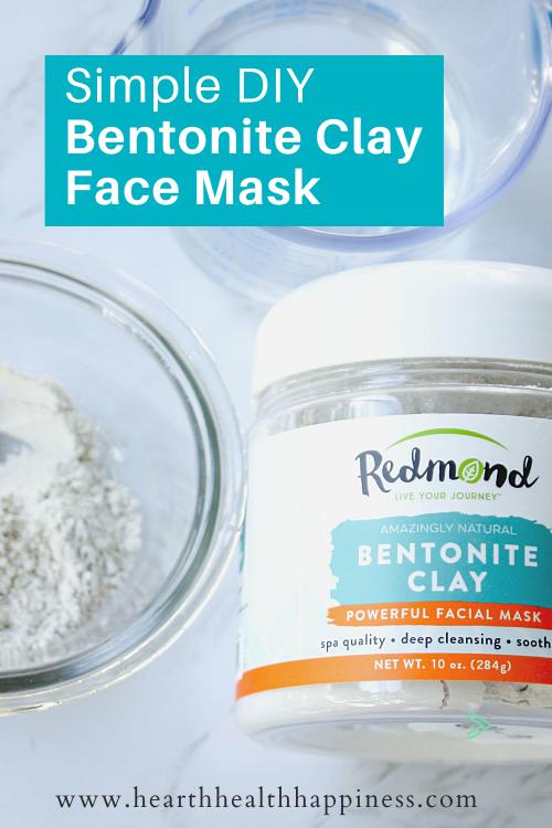 Simple DIY Bentonite Clay Face Mask